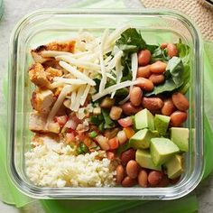 Lunch Meal Prep, Healthy Meal Prep, Healthy Snacks, Healthy Eating, Healthy Recipes, Healthy Rice, Healthy Dinners, Healthy Options, Yummy Recipes