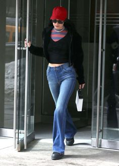Bella Hadid Out In New York