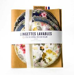 amyris-design-lingette-lavables-zero-dechet-ecologique-bambou-demaquillant-naturel-cuir-vegan-washablepaper Vegan, Design, Leather Case, Makeup Remover Wipes, Bamboo, Vegans