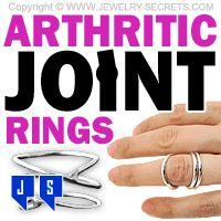 ►► ARTHRITIC JOINT RINGS ►► Jewelry Secrets