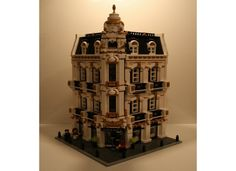 """Paris: Capital of fashion"" How not to love Paris. With this modular, you will be able to recreate a typically Parisian building. This modular is composed of 4 floors, 3 for t..."