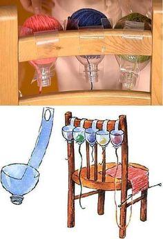 Una solución para las tejedoras.