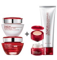 ANEW REVERSALIST - Celebrate the look of WRINKLES REVERSED. Look younger by the holidays!  IN 4 WEEKS: Pores look smaller and more refined. ...buy the day and night cream, get the cleanser and eye system FREE!!!
