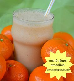Rise and Shine Smoothie (Orange Julius knock-off)