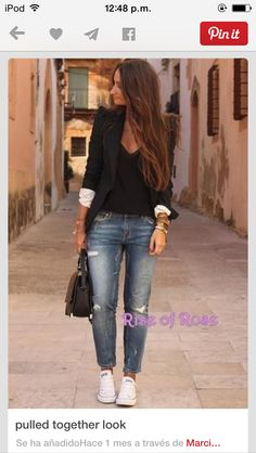 Outfit style converse