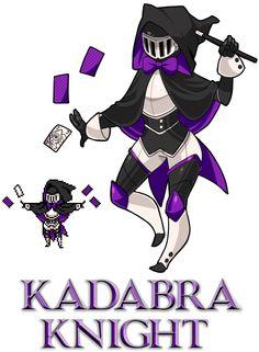 Shovel Knight fan character by kada-bura on tumblr