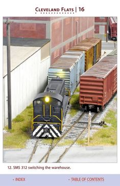 Model Railroad Hobbyist magazine, available to model railroaders and model trains enthusists to read online completely free. Model Railway Track Plans, Ho Model Trains, N Scale Trains, Model Train Layouts, Outdoor Furniture Sets, Outdoor Decor, Building, Magazine, Orange