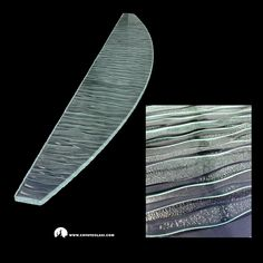 Ripple textured clear glass countertop. Glass Countertops, Clear Glass, River, House, Design, Home, Homes, Rivers