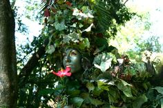 The Human Foliage Can Interact With Guests And With One Another For Slig.  Photo: Courtesy Of Capital Home And Garden Show