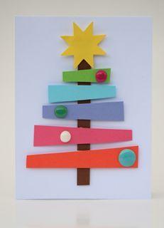 Tipy na vánoční přání, která zvládnou i malé děti | Davona výtvarné návody