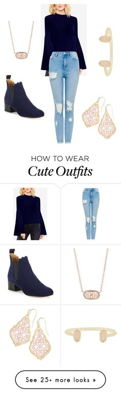 """""""Winter outfit"""" by brennabehappy on Polyvore featuring Vince Camuto, Chloé and Kendra Scott"""