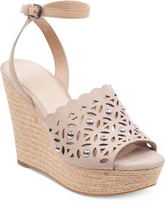 7c5a2158719 Marc Fisher Hata Platform Wedge Sandals Women s Shoes
