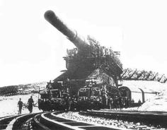 This Canon was so big , - that the German`s was forced to lay track`s fist , ( Slavelabour )before they could get it in place . Imagine - - -They actually did that , - all the way to Sevastopol ( Crimea ) ... ! It came in action , and pounded the cities defenses to ruble , - and The German tock the city 1942 ...
