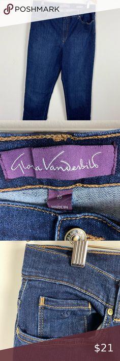 NEW Gloria Vanderbilt AMANDA Fit All Around Slimming DENIM CAPRI 21 Inseam