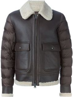 padded flight jacket