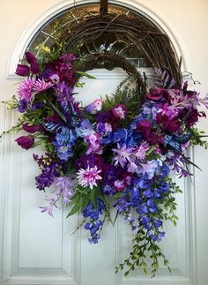 A personal favorite from my Etsy shop https://www.etsy.com/listing/289343411/spring-wreath-vine-wreath-spring-floral