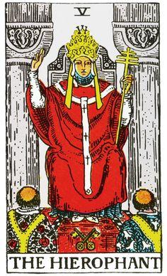 Como ler tarot - Arcano V, O Hierofante: http://www.discipulosdepeterpan.com.br/2014/10/arcano-v-o-hierofante.html