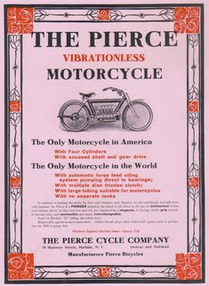 1909 Pierce motorcycle