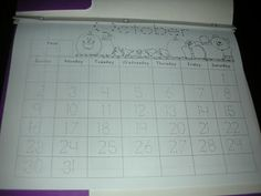 Life Is Sweet....In Kindergarten!: Calendar Time. Activities to do during morning time