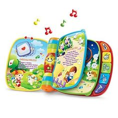 VTech Musical Rhymes Book Toddler Early Educational Interactive Learning Toy New #VtechBaby