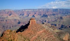 an amazing view from the top of the grand canyon