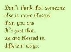 Thanks to God,  we are 'Blessed' to be alive! ♡