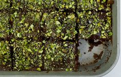 Salted Texas Chocolate Sheet Cake - Bon Appétit