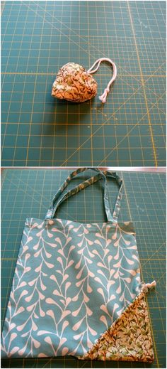 Compact Tote Bag With Surprise