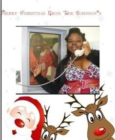 Got to give the Girl points for Creativity!! Epic Christmas Card Fail