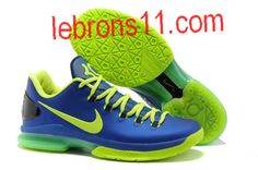 newest 0f4e7 abb94 Cheap Discount Hyper Blue Volt-Blackened Blue Nike KD V Elite Sports Shoes  Shop