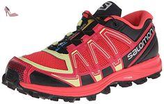Salomon  Fellraiser, Trail femme - Rose - Pink (Papaya-B/Lotus Pink/Black) -Taille :  38 EU - Chaussures salomon (*Partner-Link)