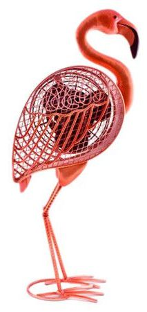 Flamingo fan // OMG. Perfect fun for summer! @Denise Kachich  love this