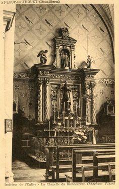 SAINT LOUP LAMAIRE Thouet Intérieur église Chapelle Bienheureux Théophane Vénard | Collections, Cartes postales, France: Poitou-Charentes | eBay!