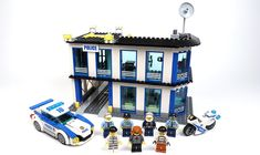 LEGO MOC-8241 60141 Police Station MOD (Town > City > Police 2017) | Rebrickable - Build with LEGO