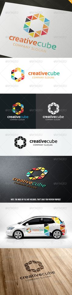 The Creative Cube Lgo  #GraphicRiver         This logo design for all creative business. Consulting, Excellent logo,simple and unique concept.  Logo Template Features   AI and EPS (Illustrator 10 EPS) 300PPI  CMYK  100% Scalable Vector Files  Easy to edit color / text  Ready to print  Font information at the help file   	 If you buy and like this logo, please remember to rate it. Thanks!     Created: 27September13 GraphicsFilesIncluded: VectorEPS #AIIllustrator Layered: No…