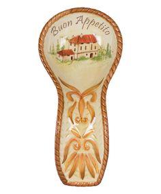 Look what I found on #zulily! Harvest Spoon Rest #zulilyfinds