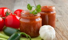 What's the next step after making #salsa? Canning it... and here's how. #recipe #food