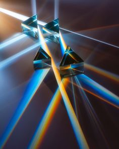 Perspective of genesis - Light rays in prism. Ray rainbow spectrum dispersion optical effect in glass prism. (With images) Rainbow Prism, Rainbow Light, Glass Photography, Light Photography, Lumiere Lyon, Rainbow Aesthetic, Light Rays, Light Reflection, Light Effect
