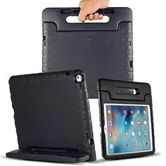 Com Anitoon Ipad Pro Case Protective Cover Shockproof Made From Tough Eva Foam Black For 12 9 Inch Compatible With
