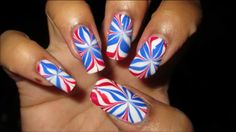 Perfect nails for 4th of july