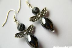 Ohrringe Engel Pearl Earrings, Drop Earrings, Pearls, Jewelry, Creative Products, Angel, Chain, Gifts, Bijoux