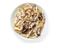 Mushroom-Gorgonzola Cream Sauce recipe from Food Network Kitchen via Food Network (Butter Cream Sauce) Entree Recipes, Pasta Recipes, Dinner Recipes, Cooking Recipes, Dinner Menu, Veggie Recipes, Dinner Ideas, Vegetarian Recipes, Chimichurri