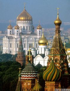 """""""The most important Russian Cathedral - the Cathedral of Christ the Savior in Moscow"""" -http://www.xxc.ru/english/index.htm"""
