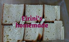Eirini's homemade: Εκμέκ με τσουρέκι