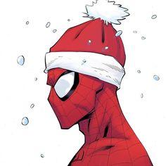 Spiderman by Ryan Ottley Spiderman Drawing, Spiderman Art, Amazing Spiderman, Marvel Drawings, Cartoon Drawings, Character Drawing, Comic Character, Marvel Dc Comics, Marvel Avengers