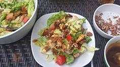 Ensalada con Pollo al Tajin y Vinagreta de Tamarindo