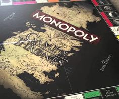 You can now enjoy the fun of Game of Thrones even when the seasons aren't live through this Monopoly Game of Thrones Collector's Edition Board Game. The ga