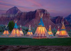 View the top 5 glamping spots in Utah