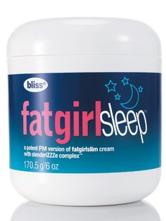 Slim bulges while you slumber with this mega-rich moisturizer that stimulates circulation and reduces water retention. #fitness #weightloss #skinny