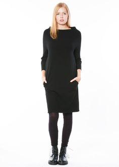 Kleid Grand von annette görtz bei nobananas mode #nobananas #fashion #mode #annettegoertz #black #dress #elegant #casual #my #favorite #follow nobananas.de/shop